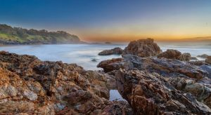 Little Diggers Beach by TarJakArt