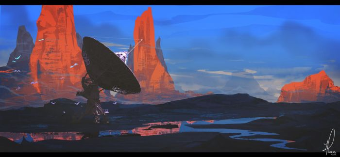 Matte Painting practice 1 by Yuzas