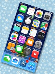 Christmas Wallpaper 2015 for iOS 9 7z by JackXan