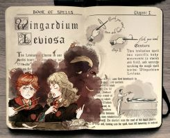 Harry Potter: Wingardium Leviosa by Picolo-kun