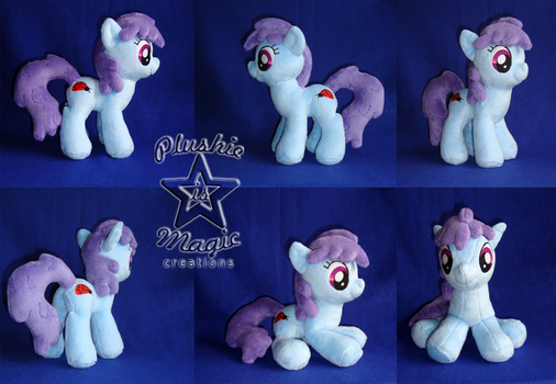 COMMISSION: Bitta Blues 10 inches plushie by SunflowerTiger