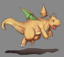 Dragonite by Mick-cortes