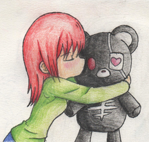 Bear hug by demonlucy
