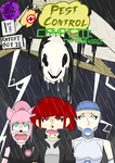 Pest Control Cryptid Fake Cover by MacabreHouse