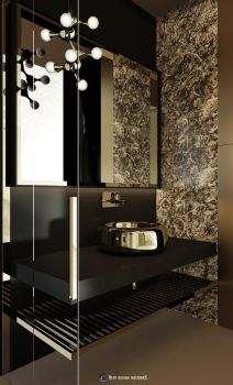 Luxury Bathroom Detail by hayriyepinar