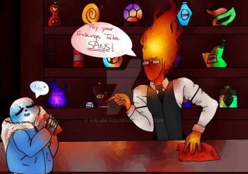 Sansby in a Nutshell :'D by Ahlam-x02