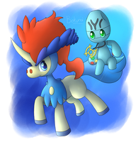 Gift: Spino and Keldeo