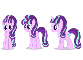 Starlight glimmer flash puppet by skele-sans
