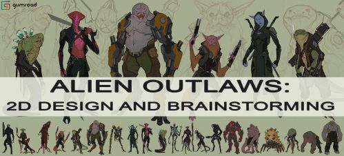 ALIEN OUTLAWS: DESIGN AND BRAINSTORMING on GUMROAD by JSMarantz