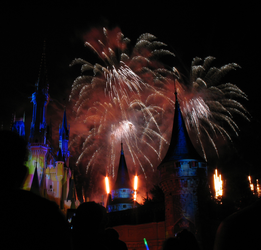 Castle Fireworks Show IMG 1133 by TheStockWarehouse