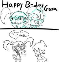 Happy Birthday Gara by ZeoLightning