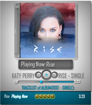 Katy Perry - Rise(Single) by Photo7Girl