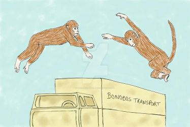 Planet of the Apes - Saving the Bonobo by bad-squirrell