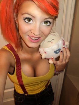 Misty cosplay by morgangirlygril