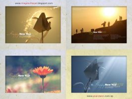 Happy new year 2012 wallpapers by lalitkala