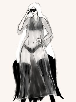 Sloppy Angel Outfit Concept by TawneyStyle