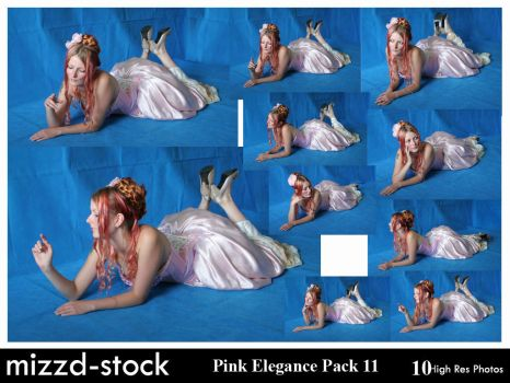 Pink Elegance Pack 11 by mizzd-stock
