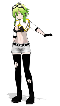 MMD - Invisible GUMI 1.0 (DL BACK UP) by Rayne-Ray