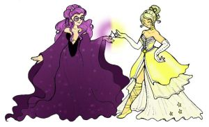 Violet and Yellow by hermitchild
