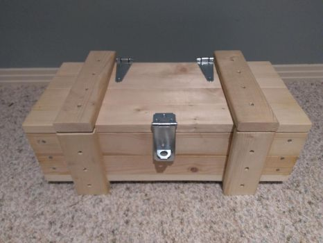 Military-Style Storage Crate by Conceptbro
