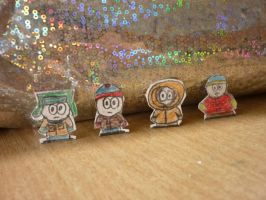 Howdy Doody, Timsy, Winky and Nod by jakelsm