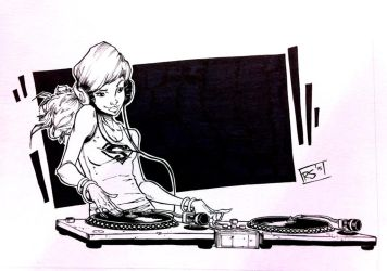 DJ Super Girl by RecsFX