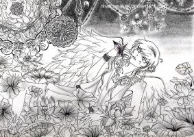 Angel in the Forbidden Garden by Nhan-SnakeX