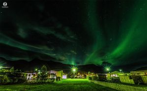 The Northern Lights Festival in Vik - I by PatiMakowska
