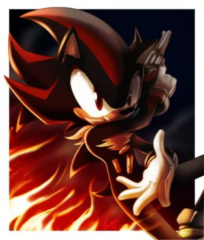Shadow and Bullets by nancher