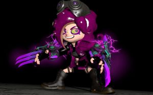 Lucy Graves, Octarian Army Second in command by GeneralGreaseMonkey