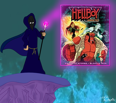 Cloaked Critic Reviews Hellboy Animated by TheUnisonReturns