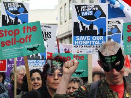 May 18th 2013 - Save the NHS: 32 by LouHartphotography