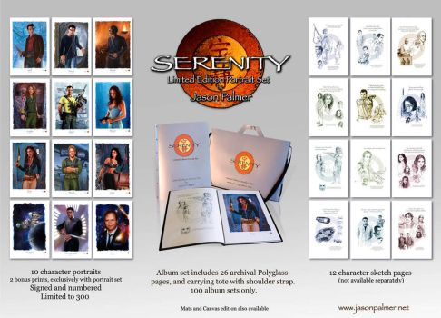 Serenity LE portrait set ad by jasonpal