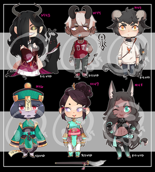 [Adopts] Minis VIII    USD    Closed by Clover1