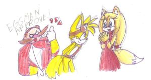 Tails and Zoey by hopelessromantic721