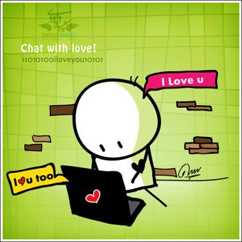Chat with love by BIGLI-MIGLI