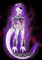 Ultra Instinct Freeza by ladytygrycomics