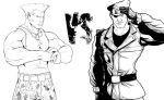Guile VS Heidern Collaboration by Marvin000