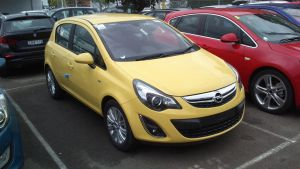 Showroom Opel Corsa by TricoloreOne77