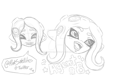 Agent 8 Doodles by Pupkaboo