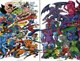 1991 Fantastic Four's Friends and Foes 358 by trivto