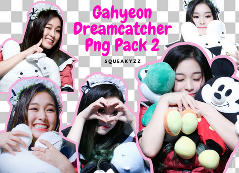 Gahyeon Png Pack 2 by squeakyzzz