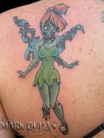 ZOMBIE TINKERBELL by amduhan
