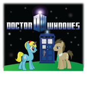 Doctor Whooves and Companion (WIP) by FluttershysFan