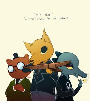 Night in The Woods. by crimsonian-leviosa