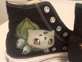 Bulbasaur Custom Shoes