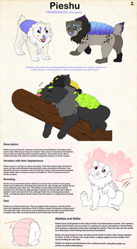 Pieshu Species Page by WhistlersCrest