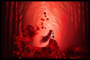 The Rose Forest by annemaria48