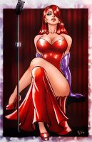 Jessica Rabbit by ErikVonLehmann