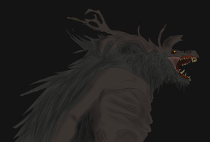 Cleric Beast Redraw by HekoTaycannis